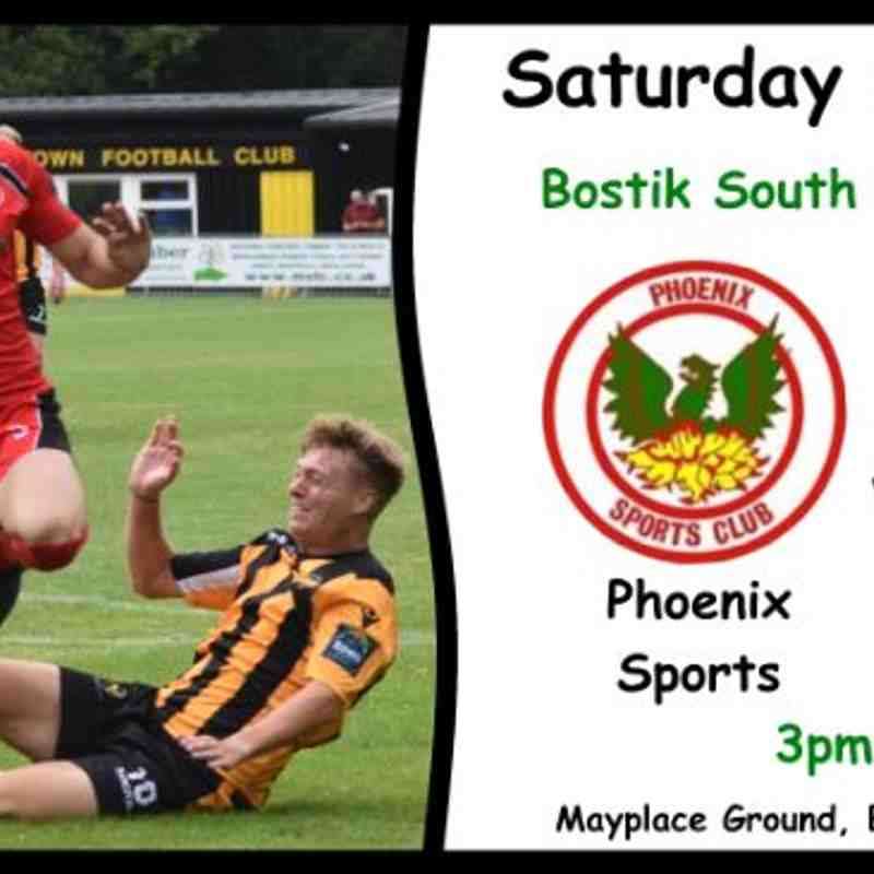 Phoenix Sports v East Grinstead Town