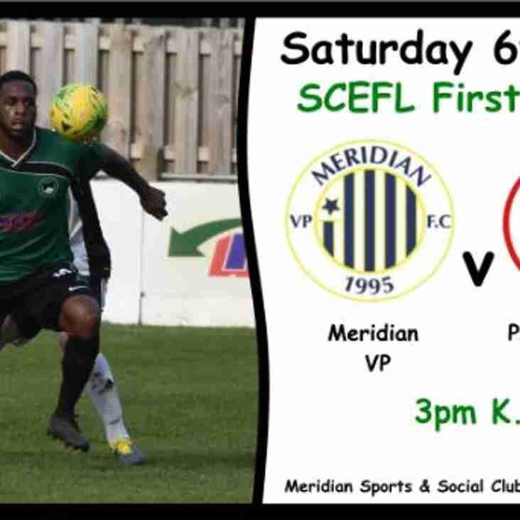 Meridian VP 2-1 Phoenix Sports Reserves