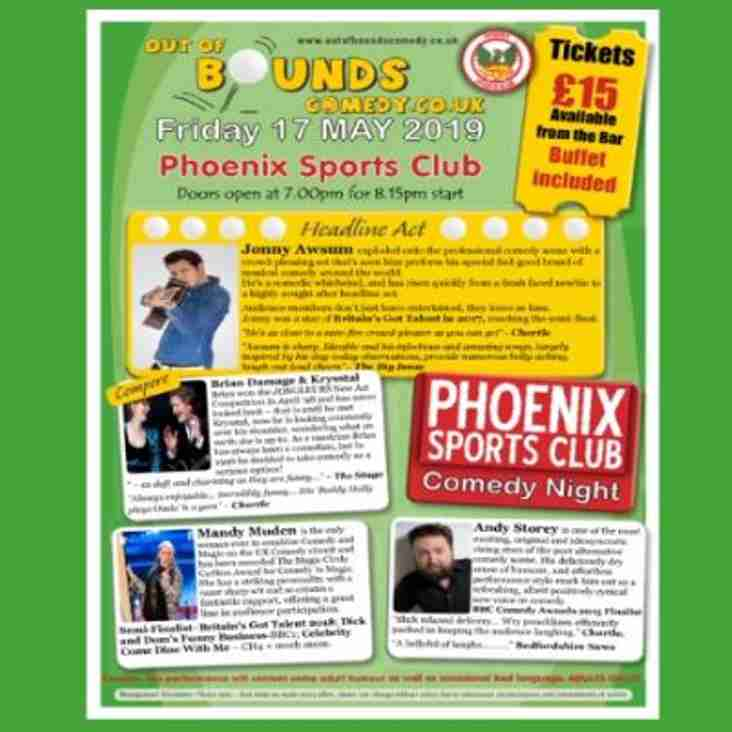 Phoenix Sports Comedy Night