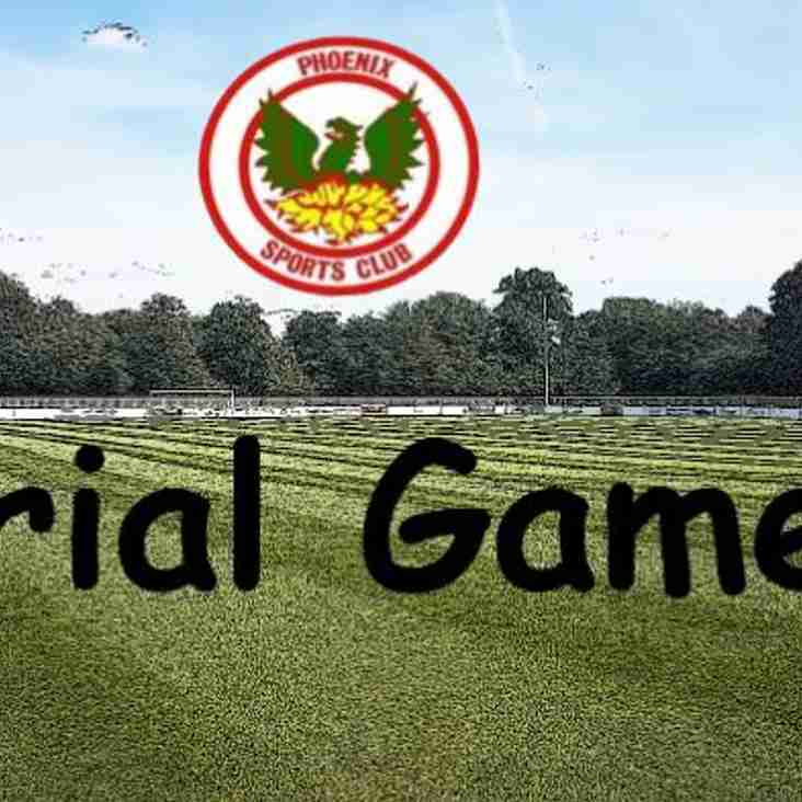 Phoenix Sports u23s Squad - Trial Game