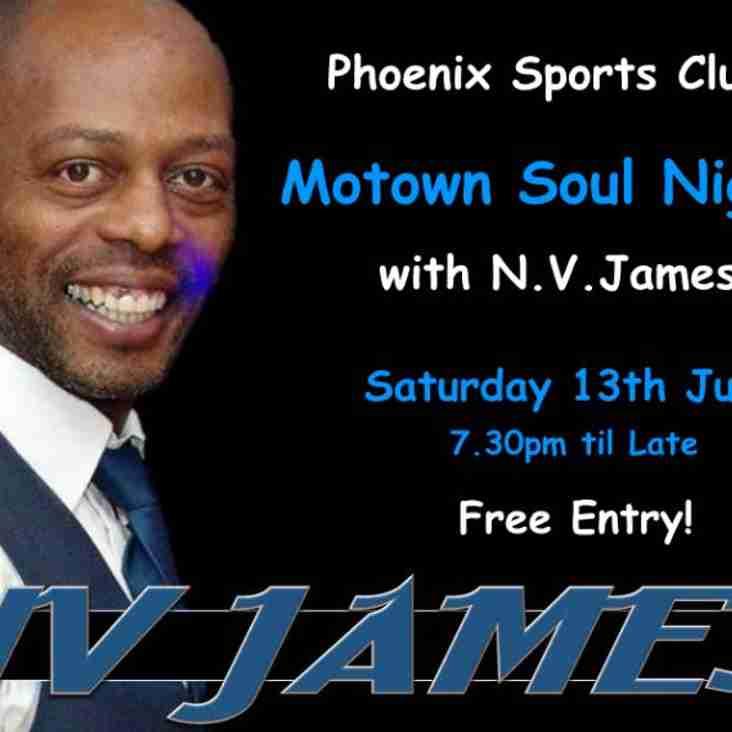 Motown Night at Phoenix Sports Club!