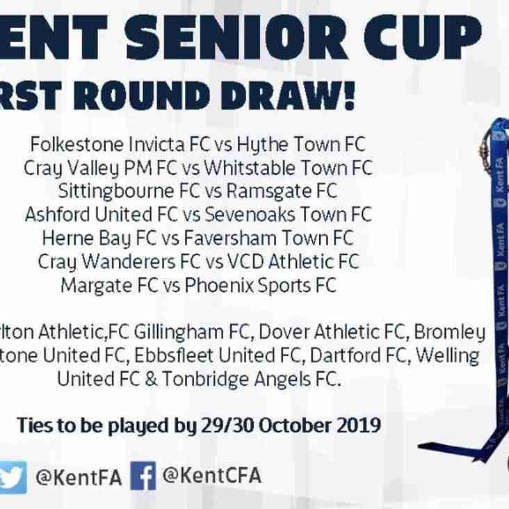 Kent Senior Cup 2019/20