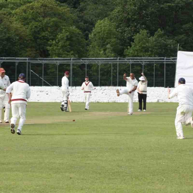 2nd XI - Cawthorne home - June 2012
