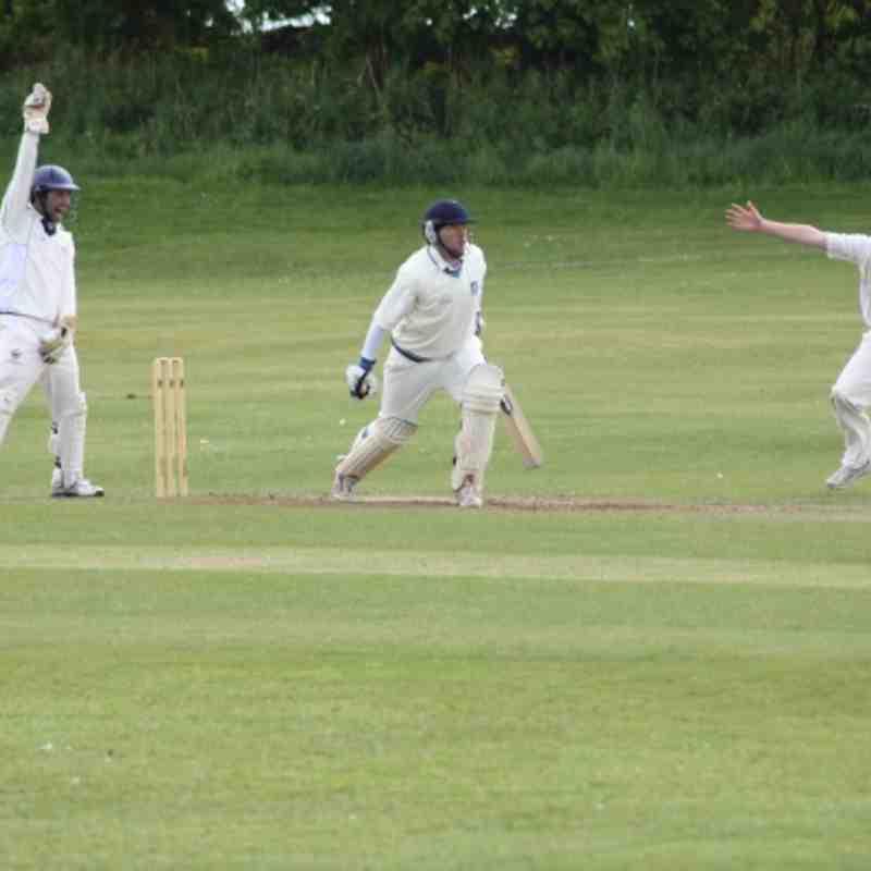 1st XI - Lepton - away - June 2012