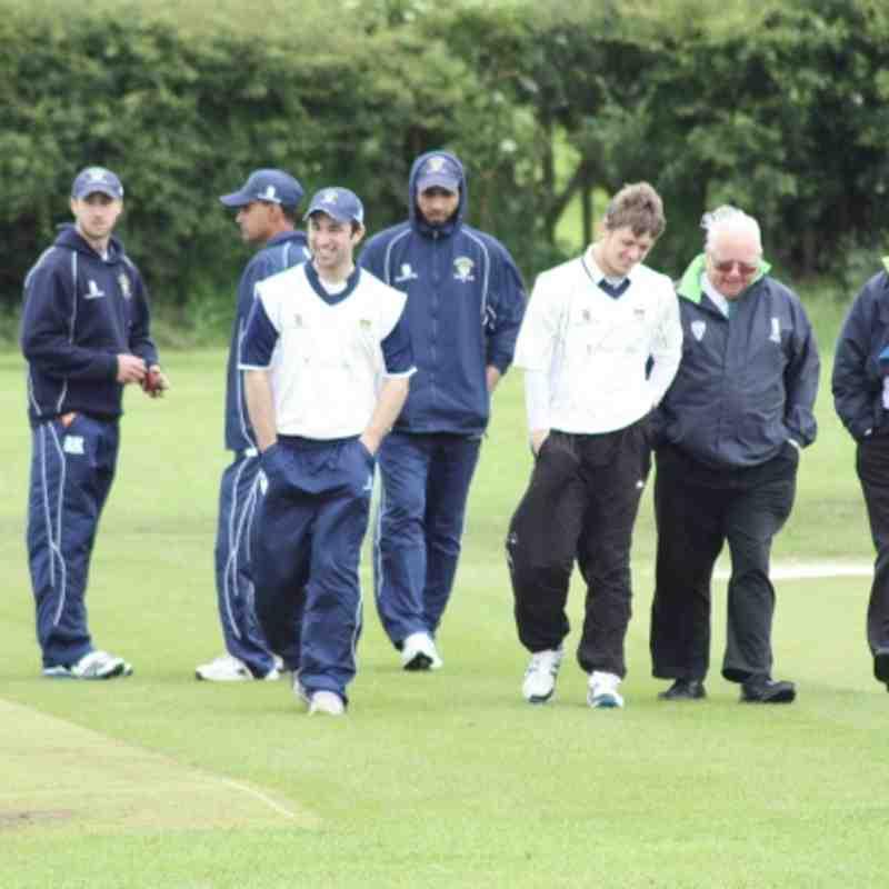 1st XI - Emley Away (League & Cup) - June 2012