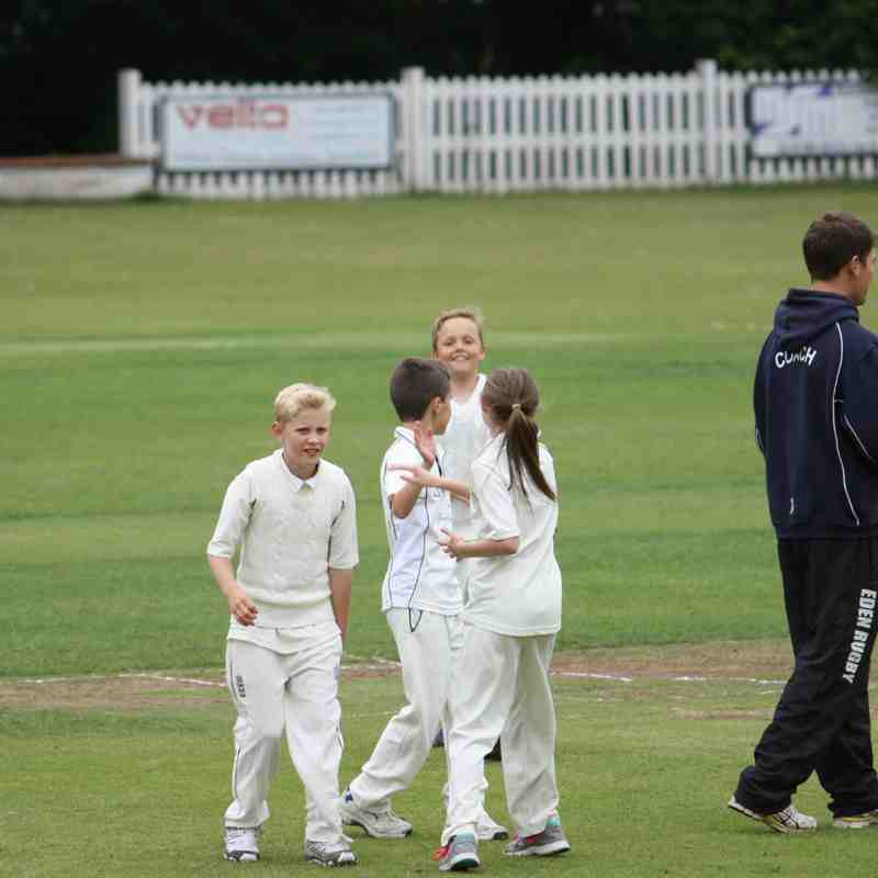 Nail biting end to Under 11's Cup run !