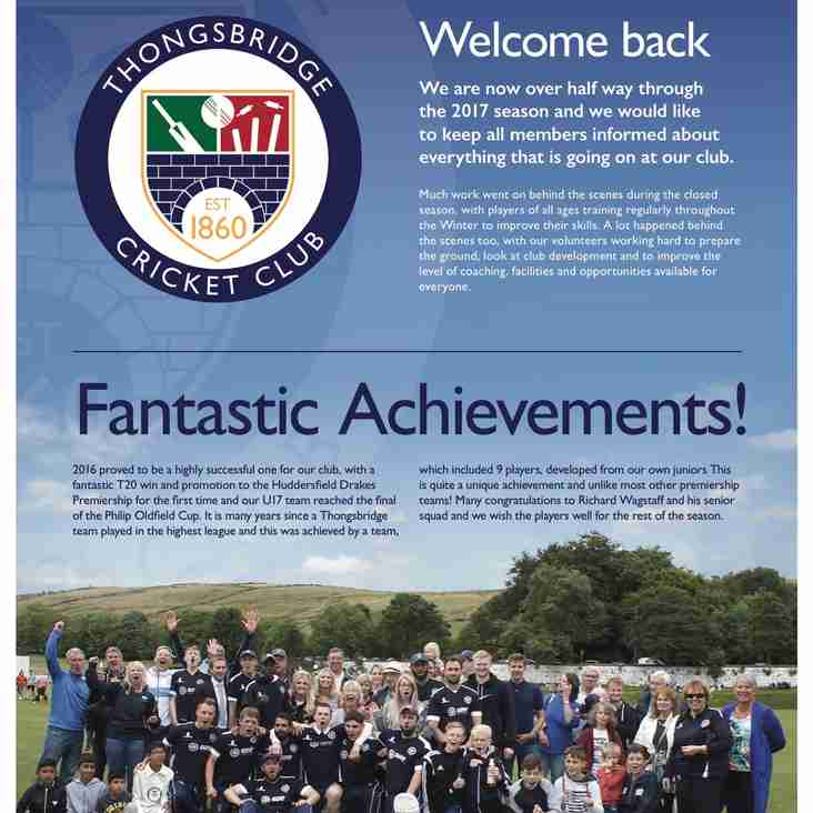 Club Newsletter 2017