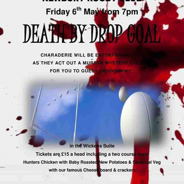 Death by Drop Goal - Fri. 6 May