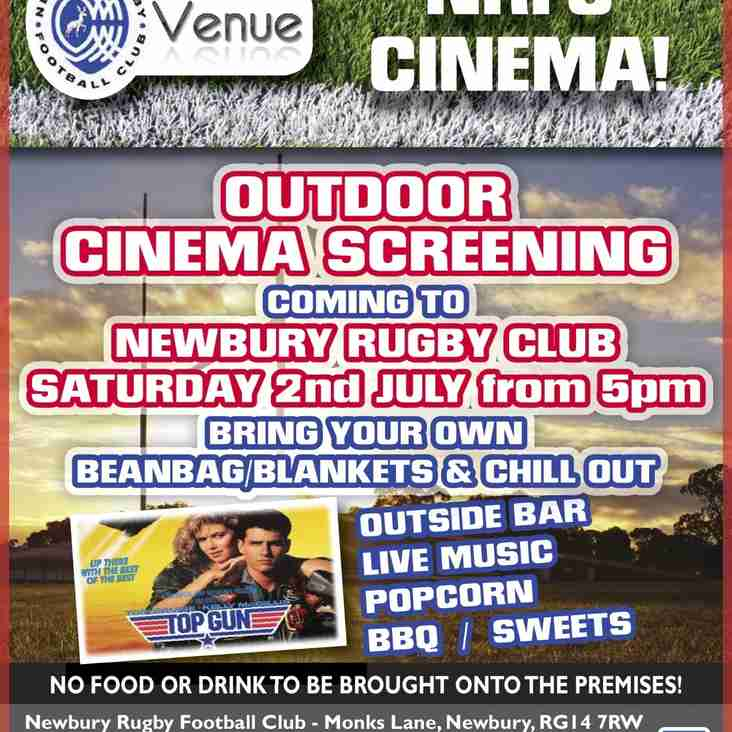 Outdoor cinema screening 'Top Gun' - Sat 2nd July