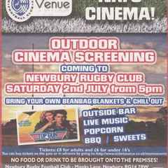 Outdoor cinema screening 'Top Gun' - Sat 2nd July