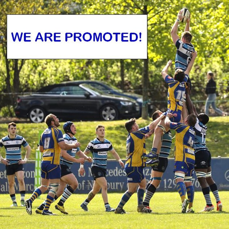 BLUES ARE PROMOTED!