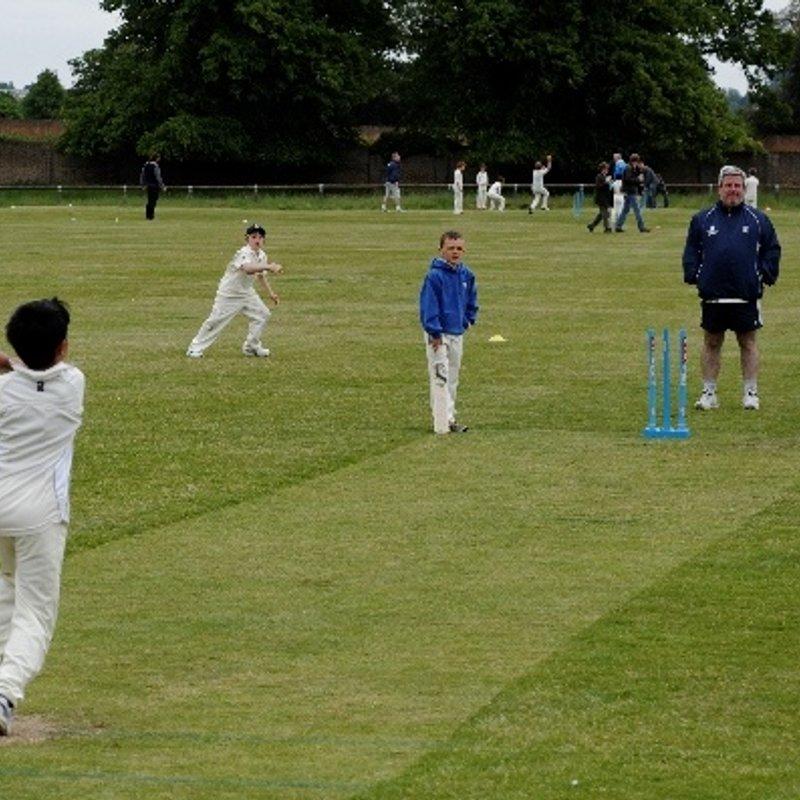 Hampton Wick Royal Cricket Club 104/6 - 83/4 Sunbury