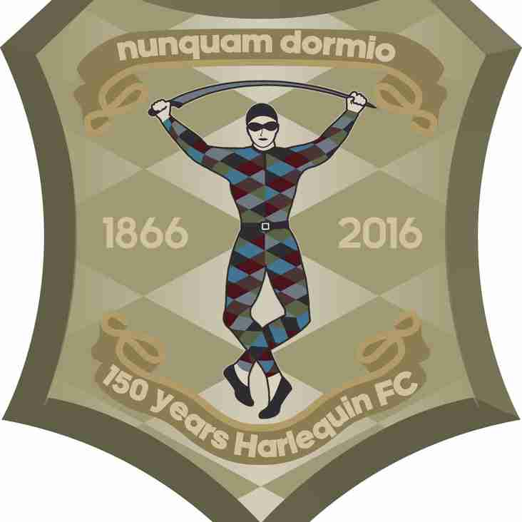 Nunquam  Dormio: 150 Years of Harlequins