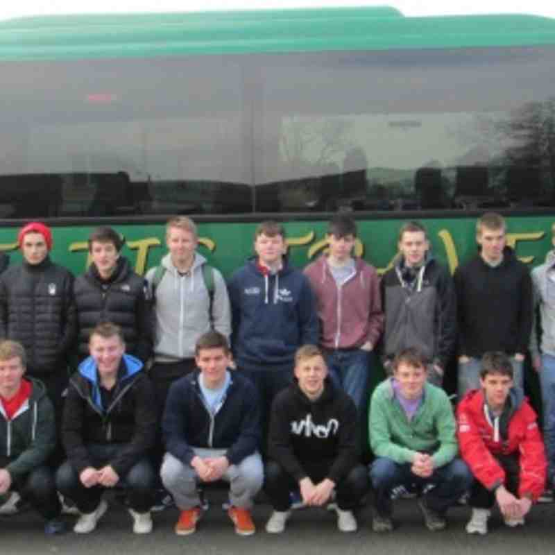 U16's Easter Tour of Ireland 2013