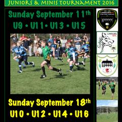 LRFC Juniors and Minis Tournament 2016
