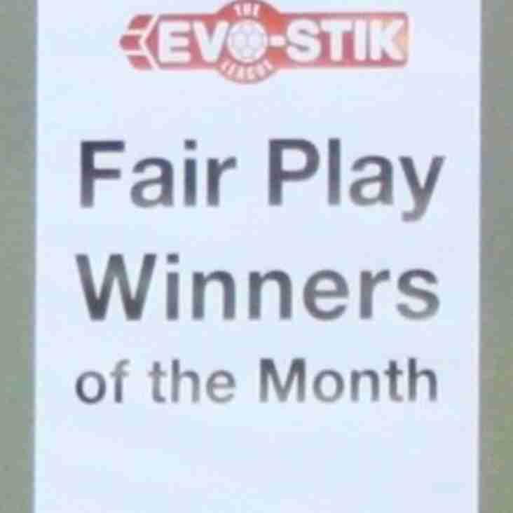 Albion Win August's Fair-Play Award