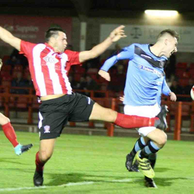 Witton Albion 1 Workington 0 October 10th 2017 (By Keith Clayton)