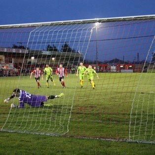 Rob Hopley's late goal earns draw