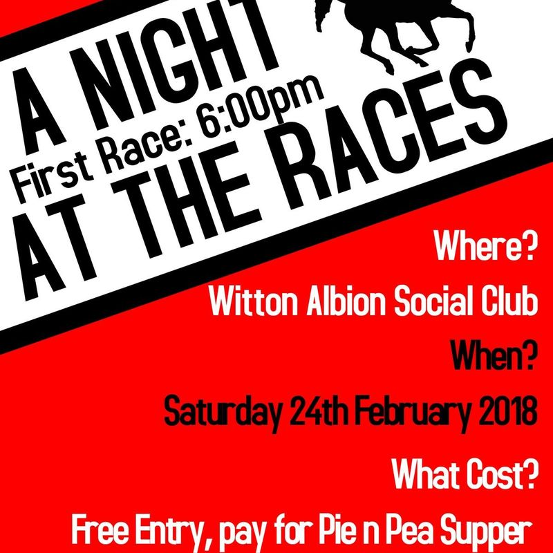 Race Night - Saturday February 24th