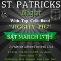 St Patrick's Night Event - Saturday March 17th