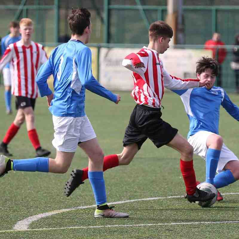 Warrington Town (Blue) v Witton Albion Academy 21-3-18