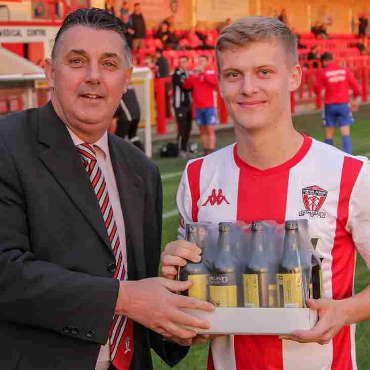 "WITTON ALBION ""PLAYER OF THE MONTH"" - AUGUST."