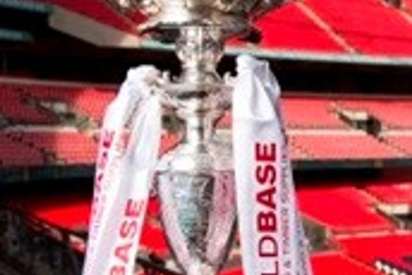 Buildbase FA Challenge Trophy Draw.