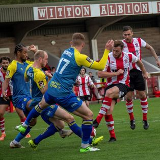 Solihull thwart Witton's bid to reach FA Cup first round