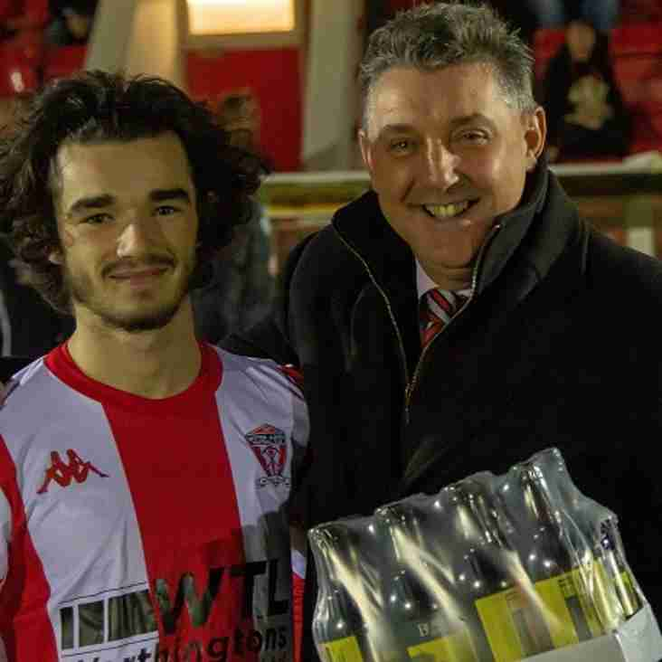 """WITTON ALBION """"PLAYER OF THE MONTH"""" - OCTOBER"""