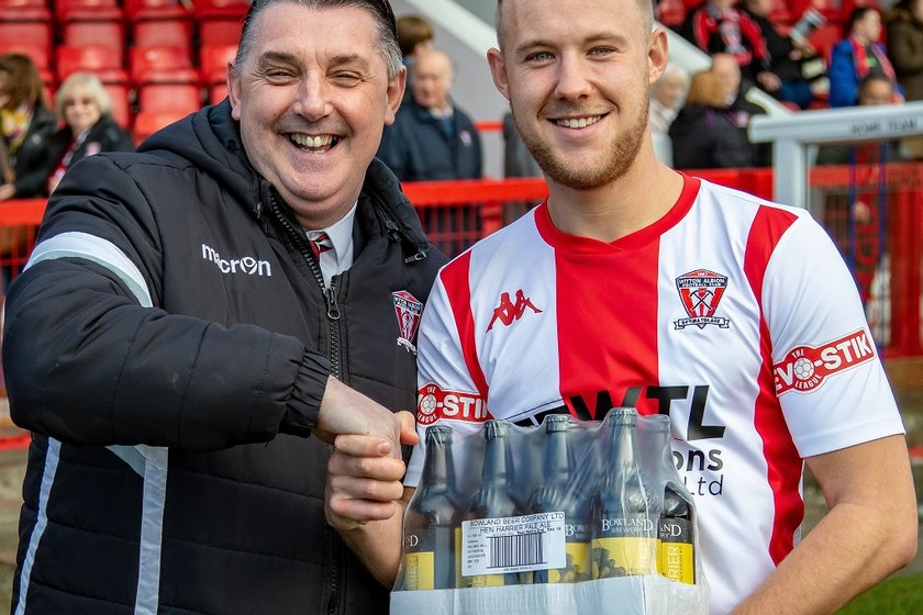 "WITTON ALBION ""PLAYER OF THE MONTH"" - JANUARY"