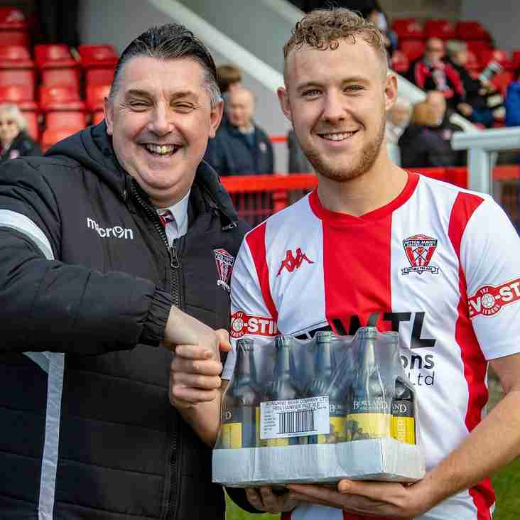 """WITTON ALBION """"PLAYER OF THE MONTH"""" - JANUARY"""
