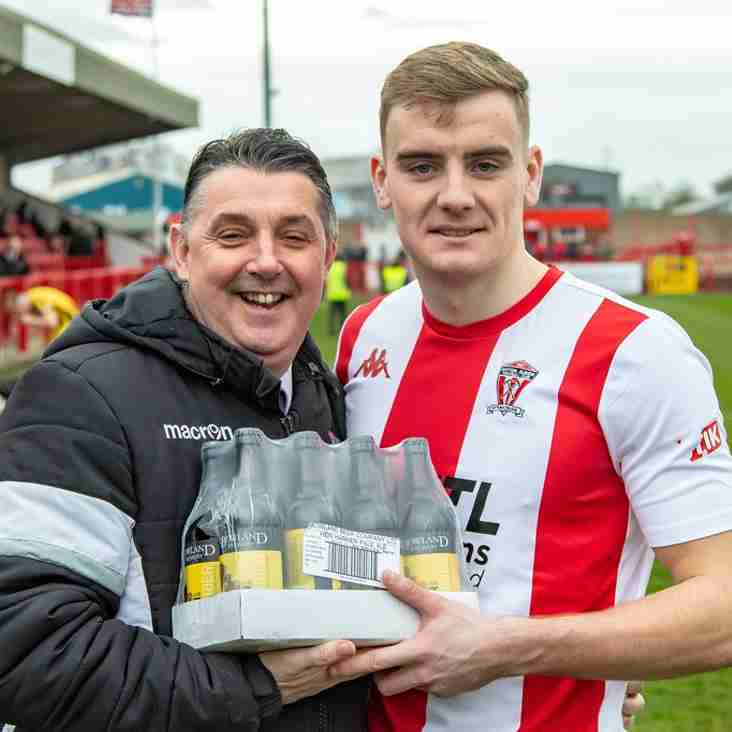 """WITTON ALBION """"PLAYER OF THE MONTH"""" - FEBRUARY"""