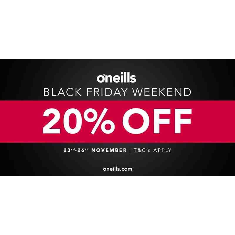O'Neills Black Friday Weekend Offer