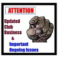 Information & Current Issues for your attention