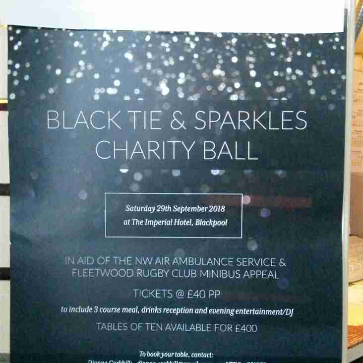 SPARKLES CHARITY BALL -  IMPERIAL HOTEL Sat 29th Sept 2018