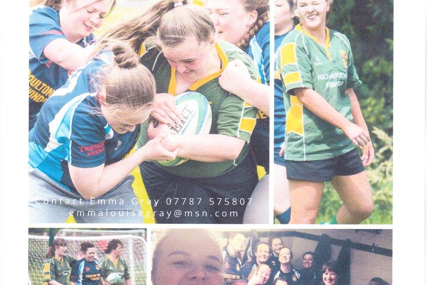 FRUFC Ladies rugby development