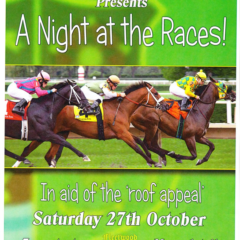 ROOF APPEAL FUNCTION SAT 27TH OCTOBER 7pm