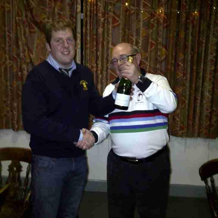 Bolney Wine Estates Man of the Match 17th Dec