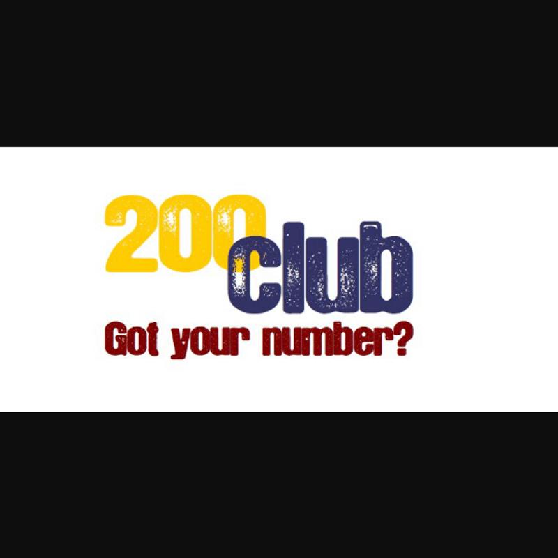 DECEMBER 200 CLUB WINNERS