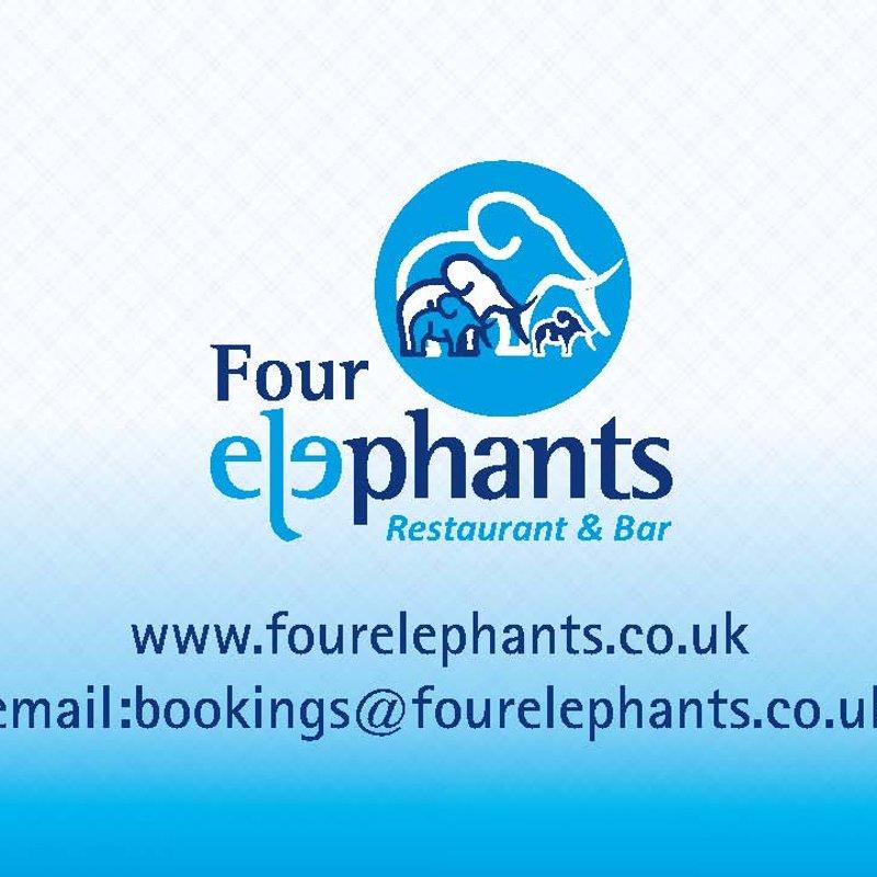 Four Elephants Fundraiser