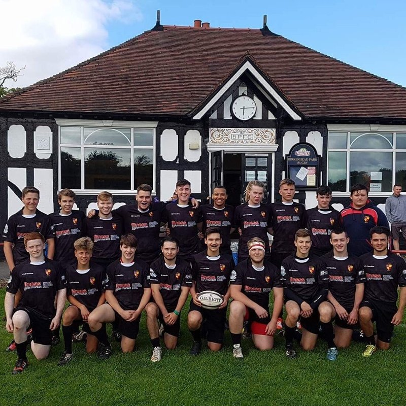 Senior Colts beat Wirral  34 - 27