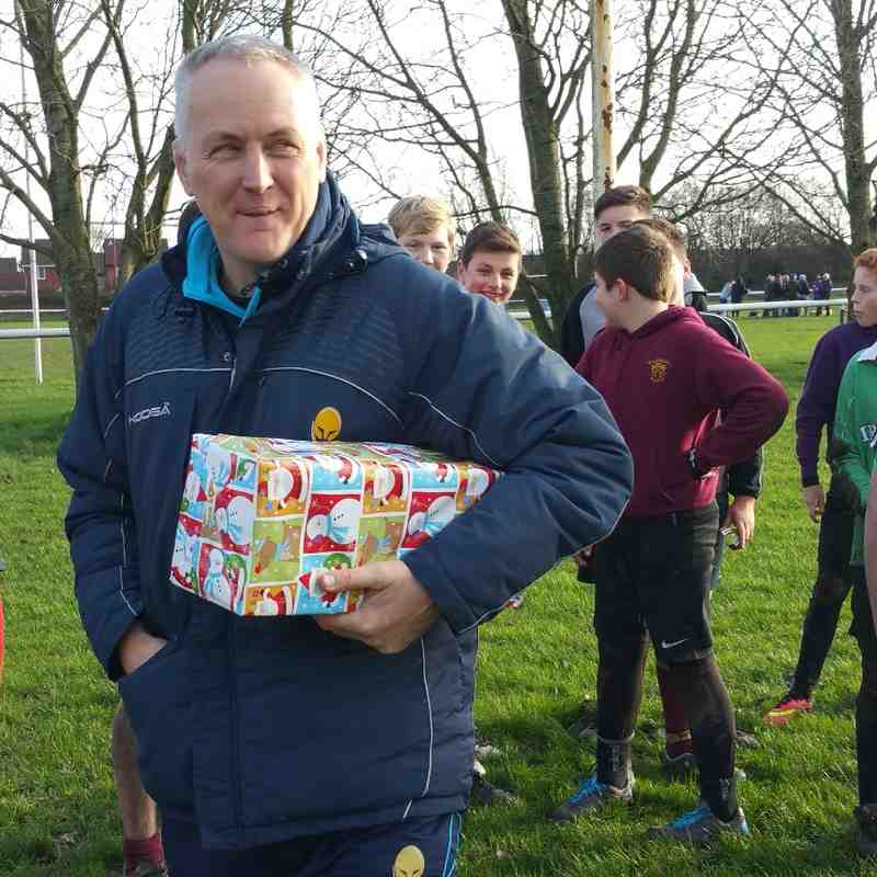 Worcester Warriors Coach Session - 20-12-2015