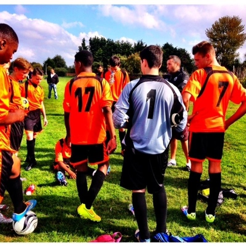 UNDER 16's NARROWLY LOSE IN COMPETITIVE FRIENDLY