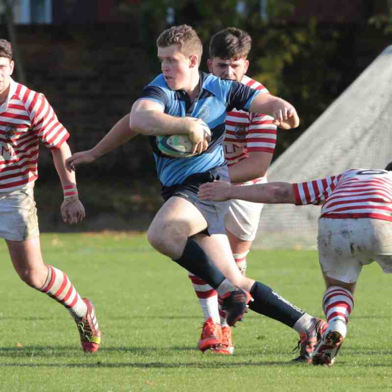 Liverpool Colleigate 1st XV vs. Manchster (A) 26/10/15