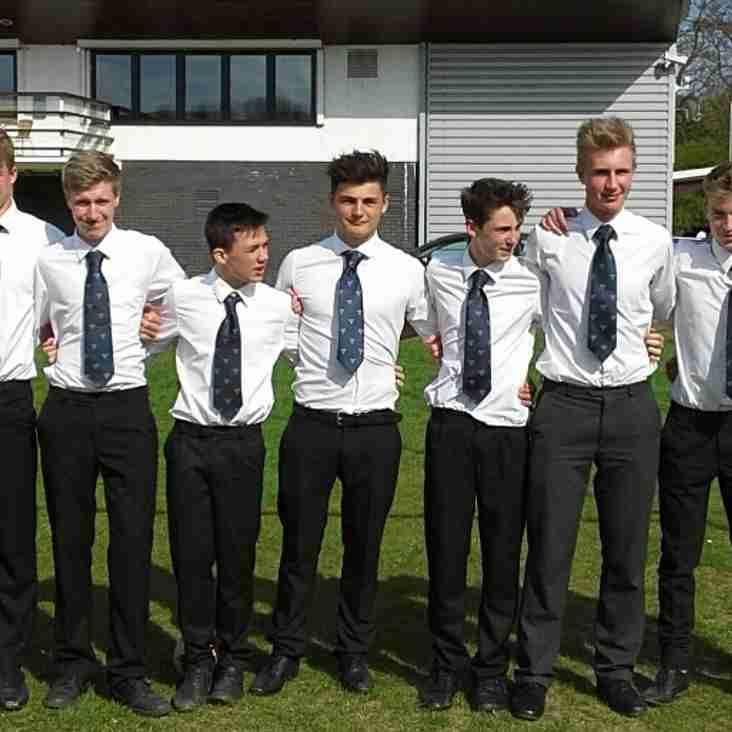 U15's represent Sussex