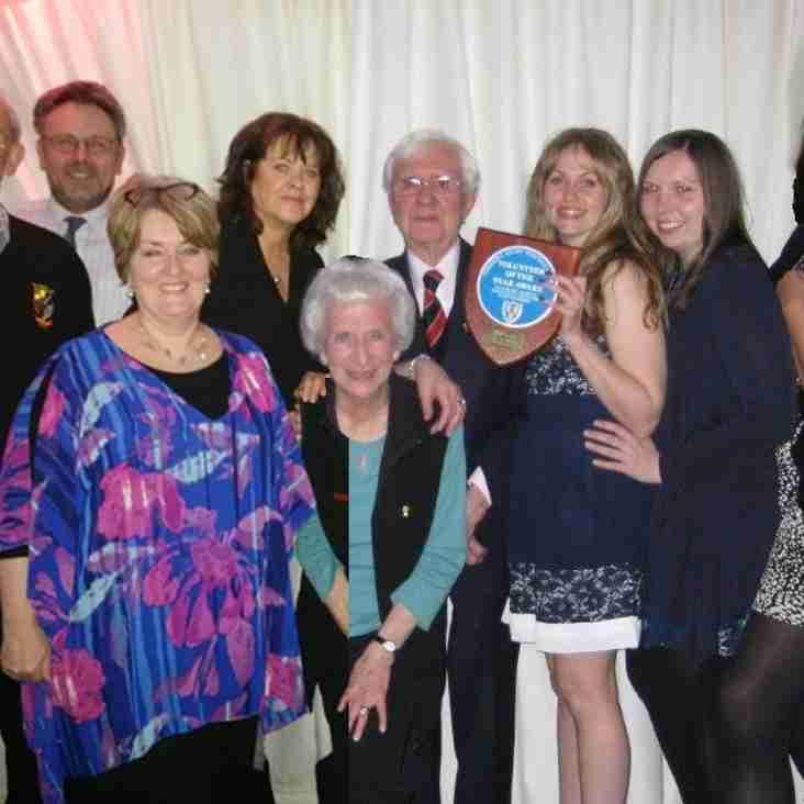 Award winning volunteer