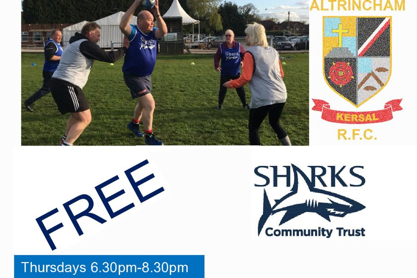 Walking Rugby Every Thursday - 6.30pm