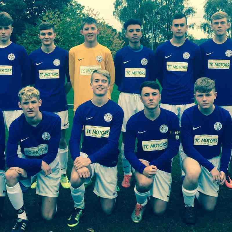 U16 Match Pics