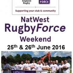 It's Here Again! - OUR Annual NatWest RugbyForce Weekend