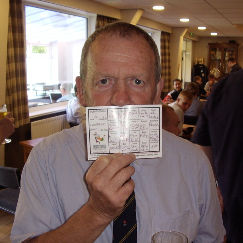 President Buys his first ever Raffle Ticket